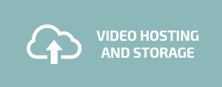 video hosting and storage